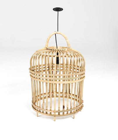 SMALL BAMBOO LIGHTSHADE - NATURAL