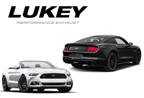 LUKEY - SPORTS SYSTEM TO SUIT FORD MUSTANG ., GEN 6 (2014 - PRESENT)