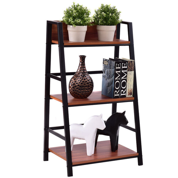 3 Tier Ladder Display Shlf Living Room
