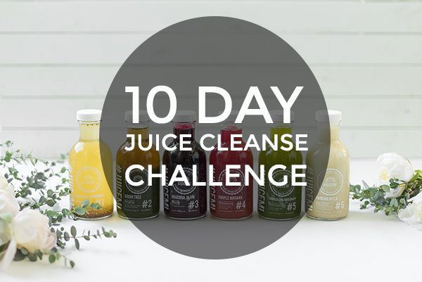 10 Day Juice Cleanse Challenge