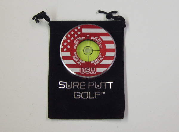 Sure Putt Pro Golf Green Reader - USA - Limited Edition