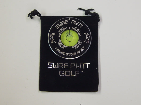 Sure Putt Pro Golf Green Reader -  Black
