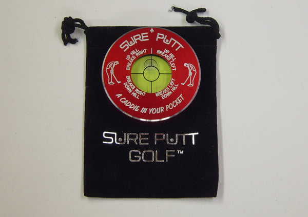 Sure Putt Pro Golf Green Reader - Red
