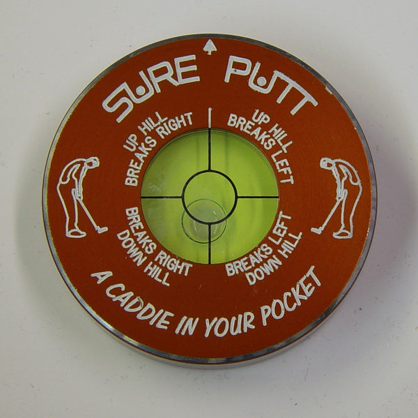 Sure Putt Pro Golf Green Reader - Orange