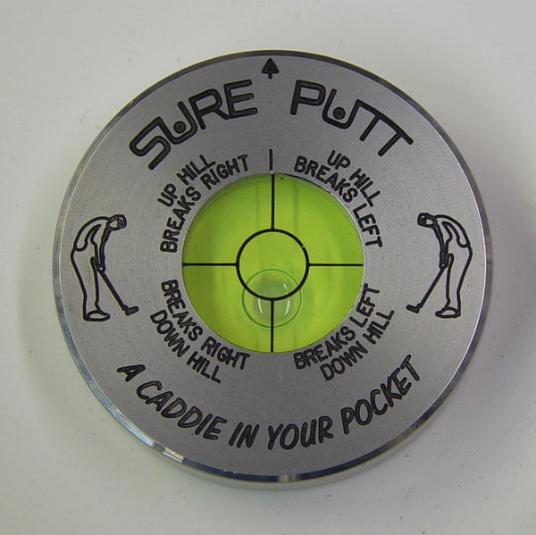 Sure Putt Pro Golf Green Reader - Silver