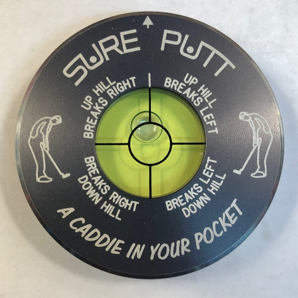 Sure Putt Pro Golf Green Reader - Gunmetal
