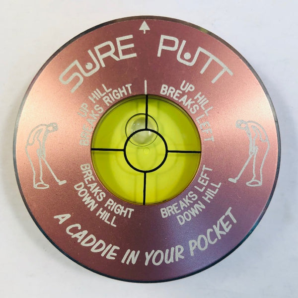Sure Putt Pro Golf Green Reader - Pink