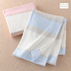 Marshmallow Gauze Big Border Throw