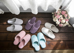 Cotton Color Slippers (Unisex)