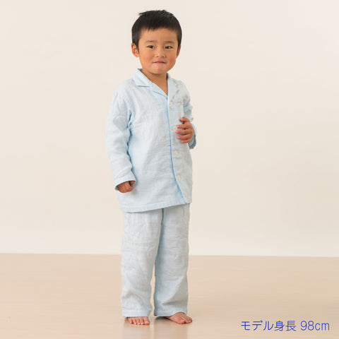 Marshmallow Gauze Kids Pajamas