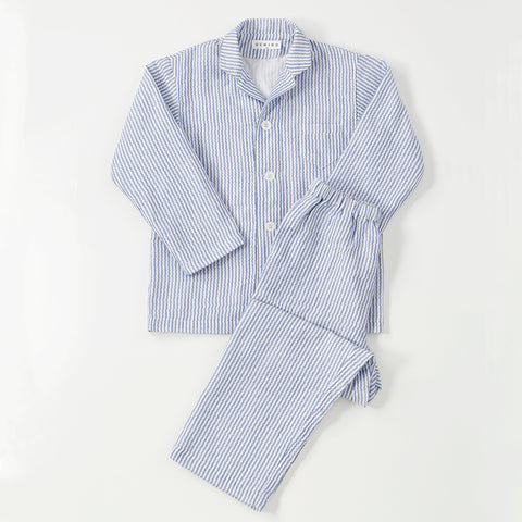Marshmallow Gauze Stripe Kids Pajamas