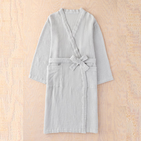 Air Waffle Light Bath Robe (Unisex)