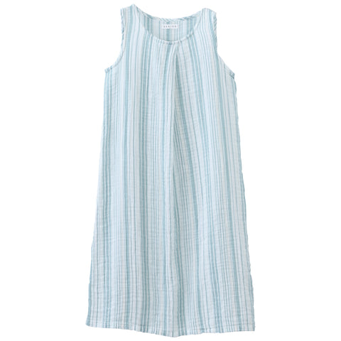 Crepe Gauze Random Stripe Dress