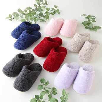 Gokufuwa Bedroom Covered Slippers (Unisex)