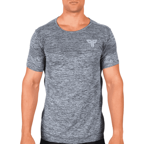 Smoke Grey Seamless T-Shirt - Ventelite Physiotherapy Kenmore and Activewear