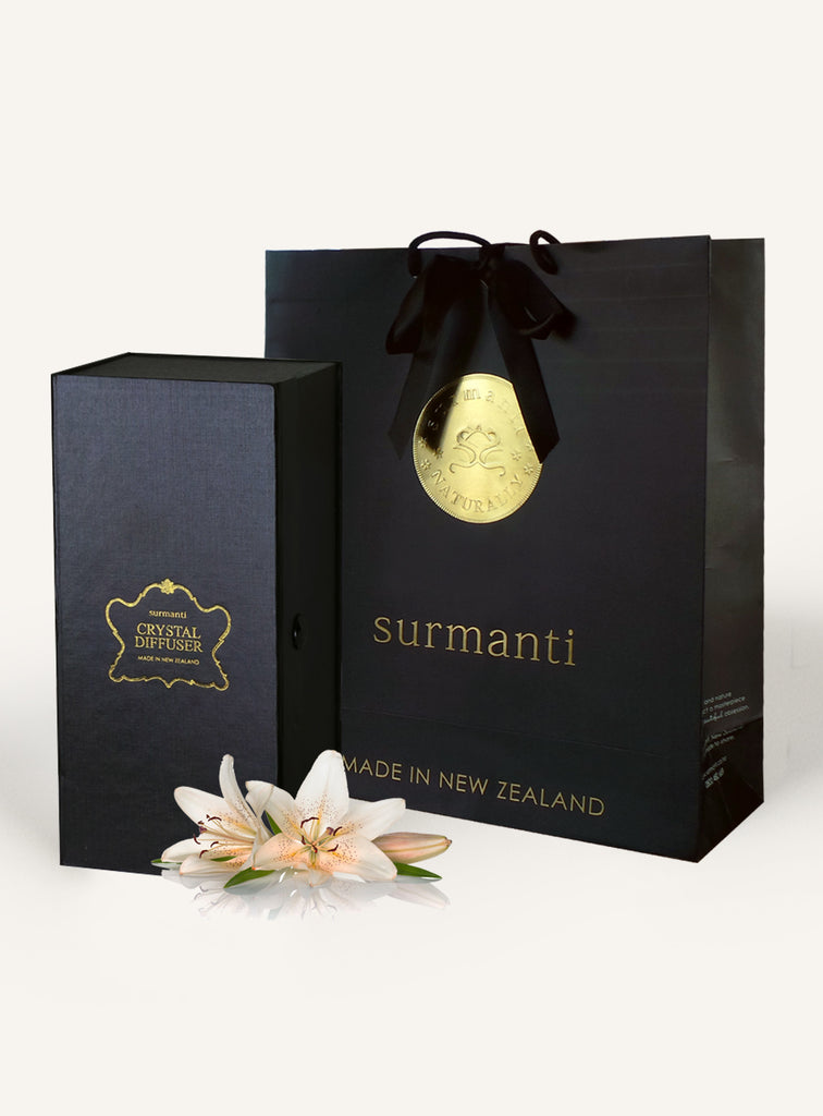 Christmas Lily Crystal Diffuser Set - Surmanti - Made In New Zealand
