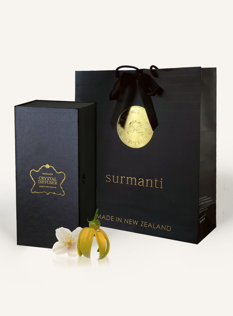 Jasmine & Ylang Ylang Crystal Diffuser Set - Surmanti - Made In New Zealand