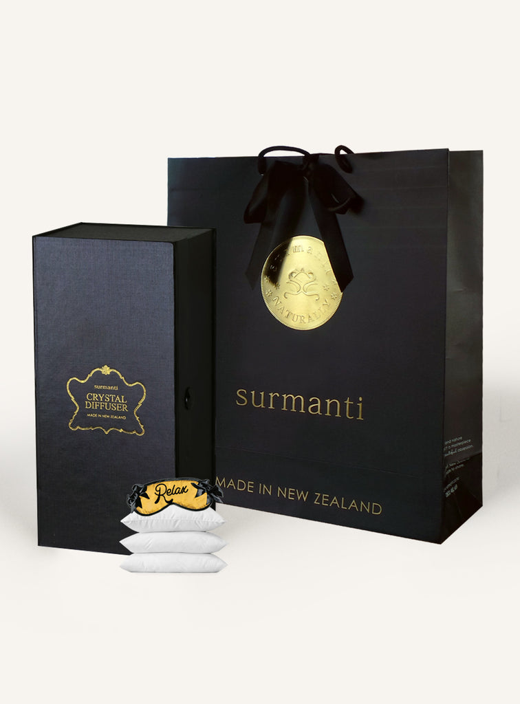RELAX. Sleep Easy Crystal Diffuser Set - Surmanti - Made In New Zealand