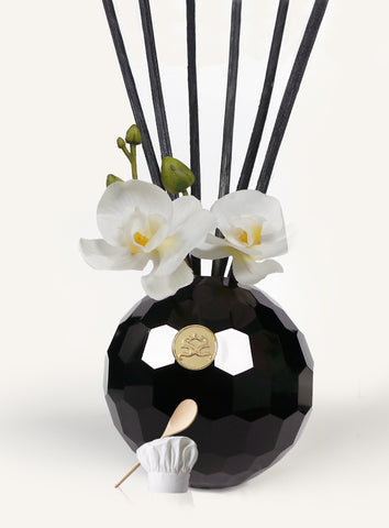 Persian Lime & Lemongrass Reed Diffuser Oil & Luxury Black Reeds - Odour Eliminator
