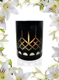 Christmas Lily Crystal Series Long Burning Organic Coconut Wax Candle