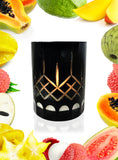Starfruit Lychee & Guava Crystal Series Long Burning Organic Coconut Wax Candle Medium 500gm
