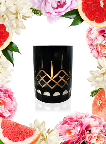 Starfruit Lychee & Guava Crystal Series Long Burning Organic Coconut Wax Candle 500gm