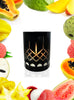 Starfruit Lychee & Guava Crystal Series Long Burning Organic Coconut Wax Candle 150gm