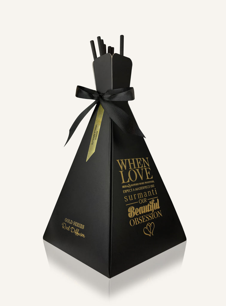 Vanilla Absolute Gold Series Reed Diffuser