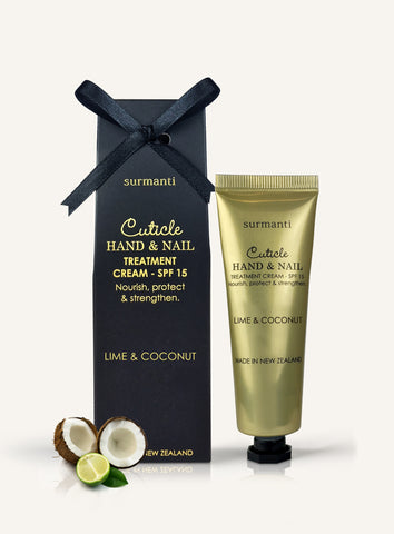 Cuticle Hand & Nail Treatment Cream - Sandalwood & Patchouli