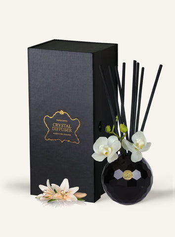 Christmas Lily Crystal Series Long Burning Coconut Wax Candle 150gm