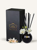 Christmas Lily Lead Crystal Diffuser Set