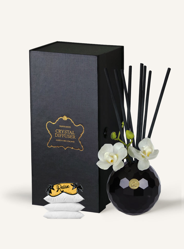 RELAX. Sleep Easy Crystal Diffuser Set