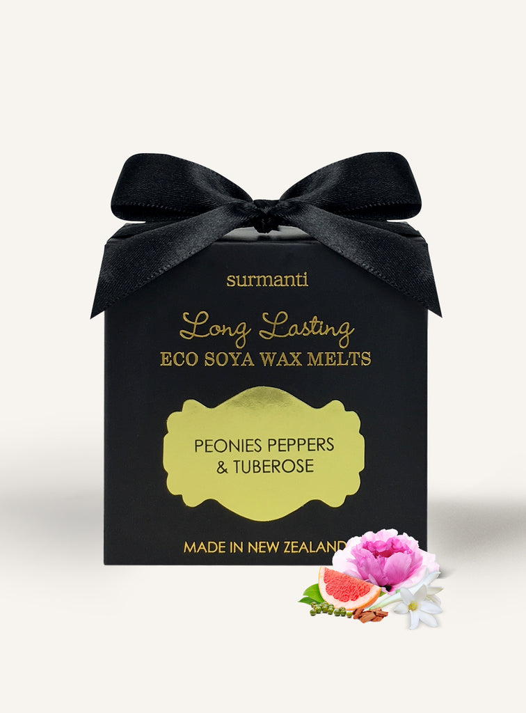 Peonies Peppers & Tuberose Long Lasting Eco Soya Wax Melts