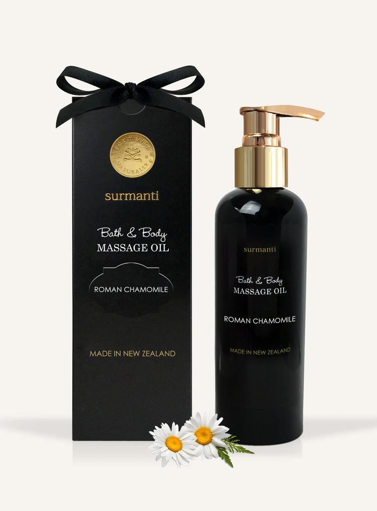 Roman Chamomile Bath Body & Massage Oil - Surmanti