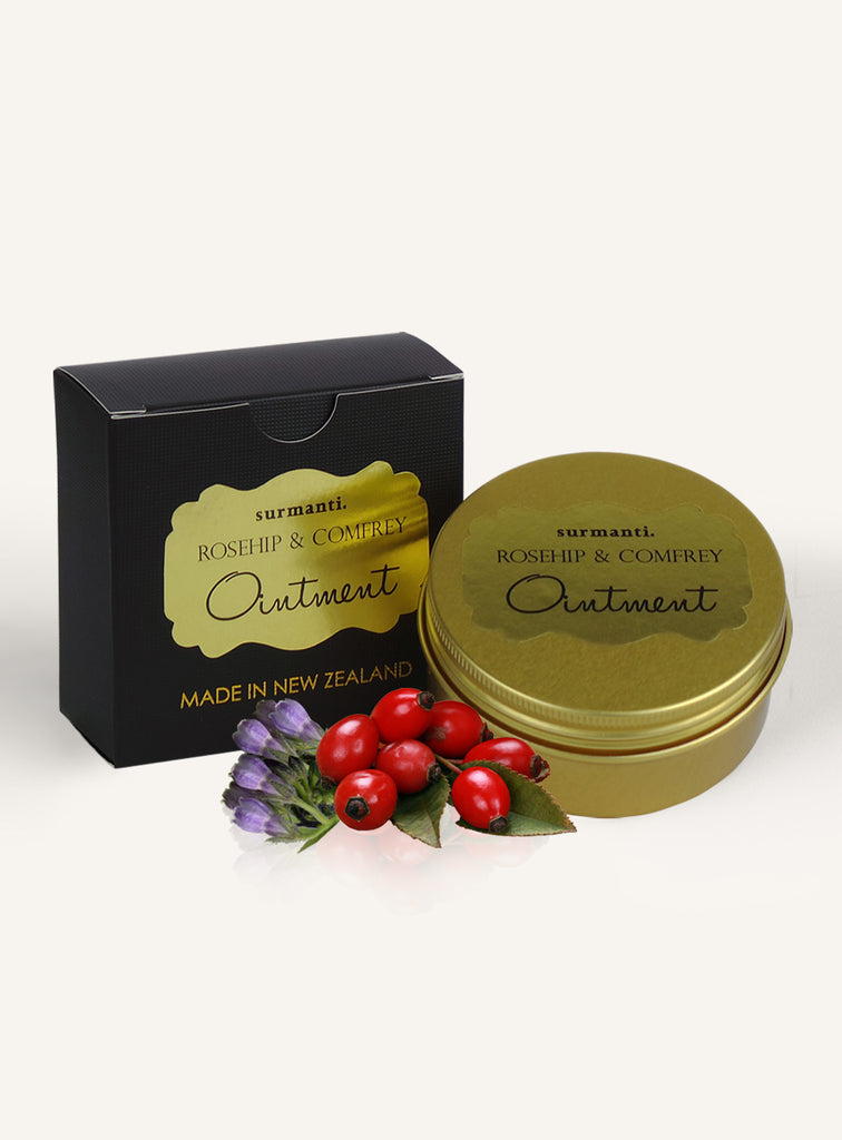 Rosehip & Comfrey Ointment - Surmanti - Made In New Zealand