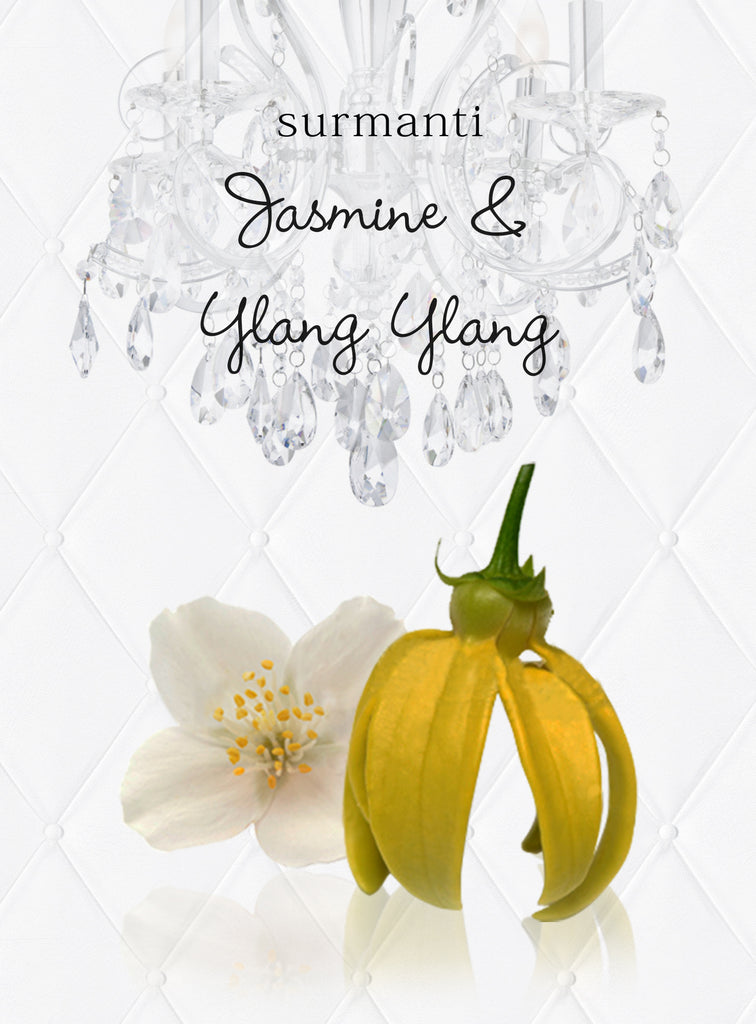 Jasmine & Ylang Ylang Reed Diffuser Oil & Luxury Black Reeds
