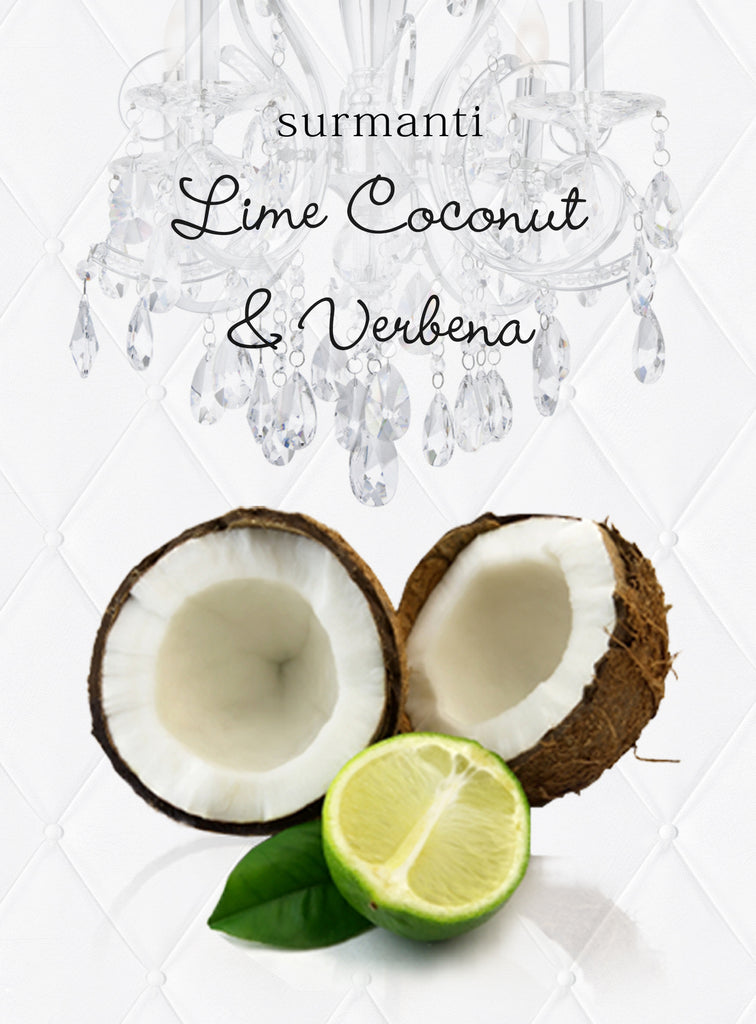 Lime Coconut & Verbena Gold Series Reed Diffuser