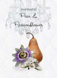 Pear & Passionflower Reed Diffuser Oil & Luxury Black Reeds