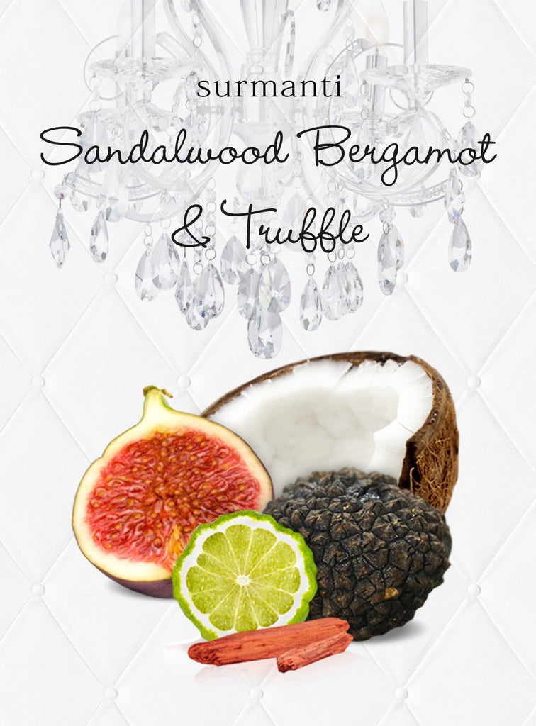 Sandalwood Bergamot & Truffle Long Lasting Eco Soya Wax Melts
