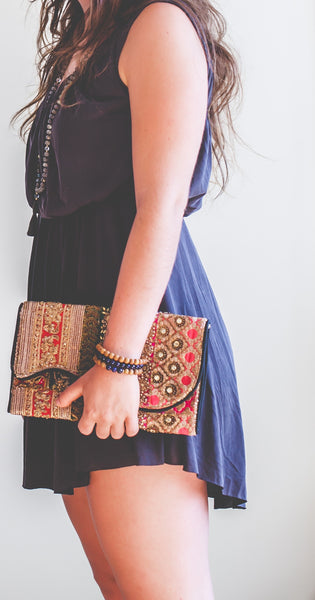 Beaded Intention Clutch