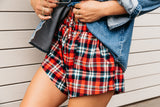 Ladies Tartan Shorts