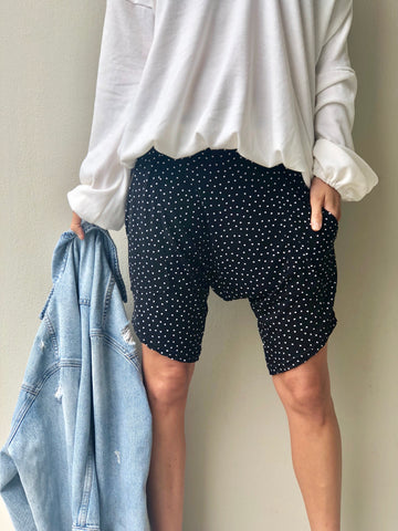 Spotty Harem Shorts