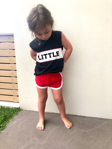 Little Edge Singlet