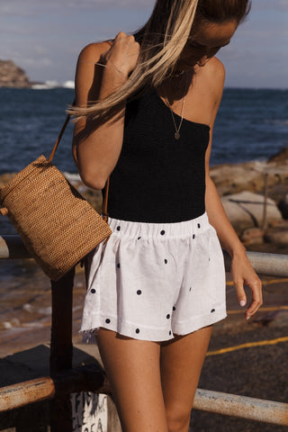 Ladies Linen Shorts
