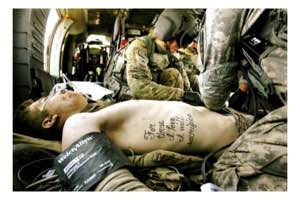 Private First Class Kyle Hockenberry had For those I love I will sacrifice