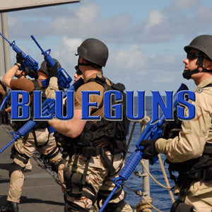 Blue Training Guns