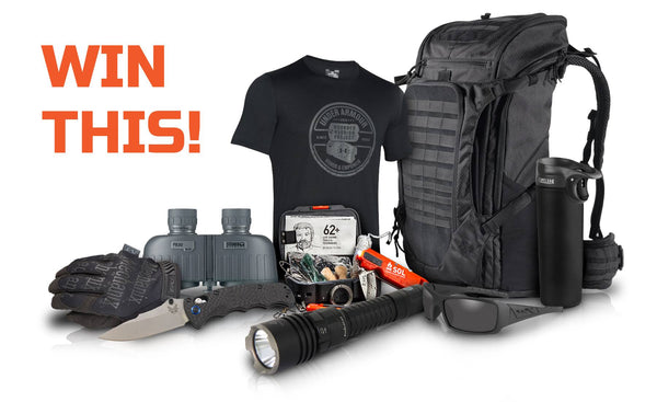 Warrior inc Tactical Gear Give-away Competition