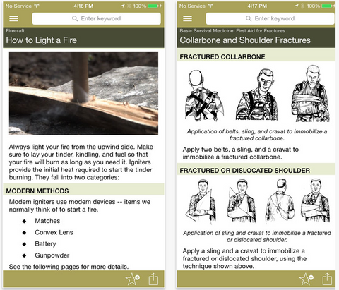 Army Survival for iPad/iPhone By Double Dog Studios