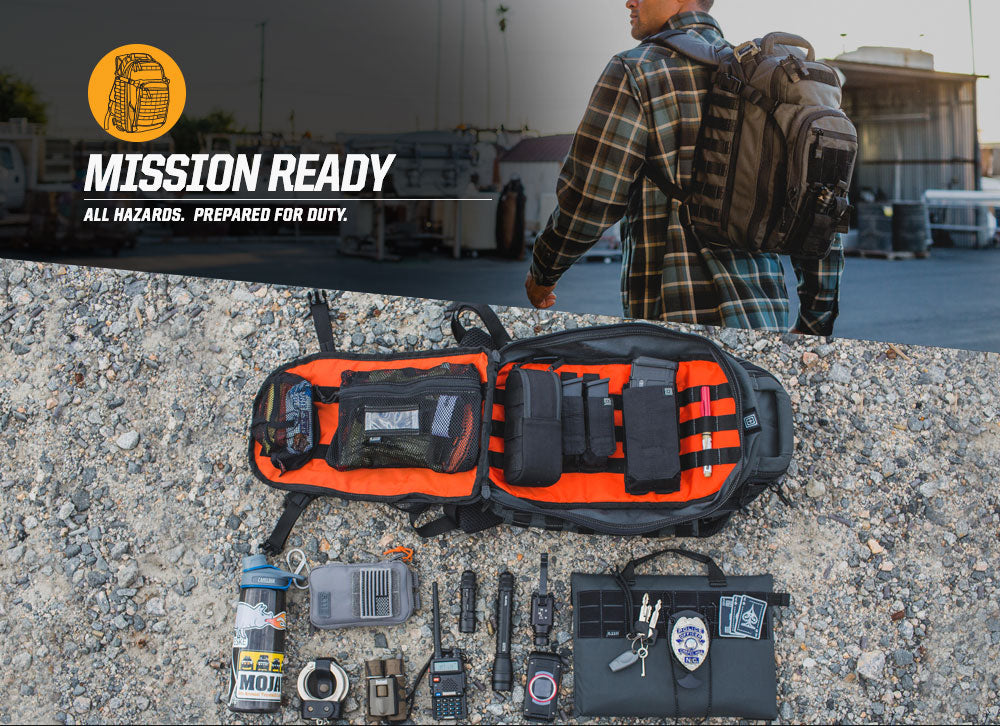 5.11 Tactical All Hazards Nitro Load Out Mission Ready Bag