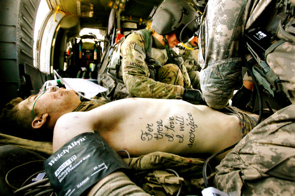 Kyle Hockenberry Warrior For those I love I will sacrifice